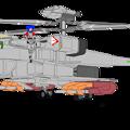 Photos: オーロラ・スターリングと可変戦闘機 VFH-12B スーパーオーロラン(ジャイロダイン形態)