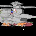 Photos: (通常形態ジャイロダイン)VFH-12B スーパーオーロラン