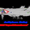 Photos: VF-12(F2) スーパー・エアフォース・オーロランとオーロラ
