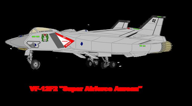 VF-12(F2) スーパー・エアフォース・オーロラン