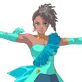 インド系の歌手アーナ〔Aahna〕