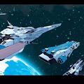 遠征艦隊軍アームド空母を護衛とする超時空要塞艦隊