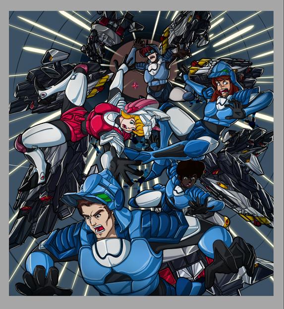 【最終完成版】超時空騎団サザンクロス「クライシスポイント」『第7話 ラビリンス』【迷宮】