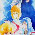 Photos: Vivid_Yutaka_Arai_Vivid_REMASTER pin-up poster folding in three Piece My anime september 1984 issue
