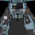 Photos: Block 03-B 〔正面の防弾ガラス撤去〕可変戦闘機『 VFH-10Cオーロラン』 操縦席コンソール