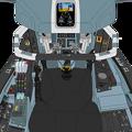 Block 50-A 〔Block 03 を基盤とする〕可変戦闘機 VFH-10H「オーロラン」操縦席コンソール