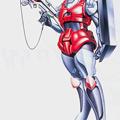 超時空騎団サザンクロス 小川浩 戦略機甲隊 女性指揮官