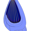 Photos: 電子弦楽器「リーヴ・フィセル」(電子琴本体のみ)