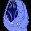 Photos: 電子弦楽器「リーヴ・フィセル」(電子琴本体+操作卓付き肘掛椅子)