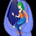 Photos: 超時空騎団サザンクロス2020『ムジカ・ノヴァ』と 歌巫女の電子弦楽器「リーヴ・フィセル」
