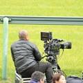 Photos: [140420中山11R皐月賞]TLでも好評だったらしいスーパースロー映像、を撮ってたカメラマンの方です