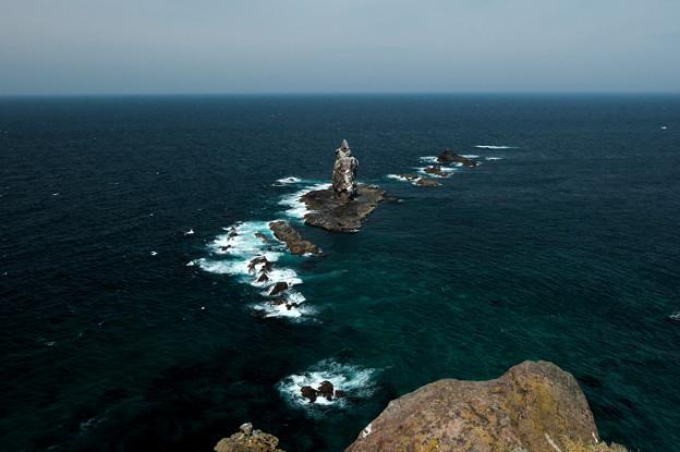 写真: 神威岩