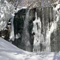 Photos: 凍てつく滝。