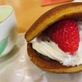 Photos: いちごクリームどら焼き。