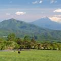 Photos: 高原の牧場から。