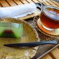 Photos: しばしのお茶タイム。
