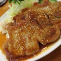 Photos: 厚切りロースの生姜焼き。
