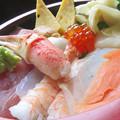 Photos: カニツメ入りちらし寿司。