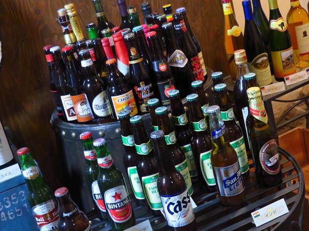 世界のビール。