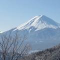 Photos: 雪の華咲く御坂峠。