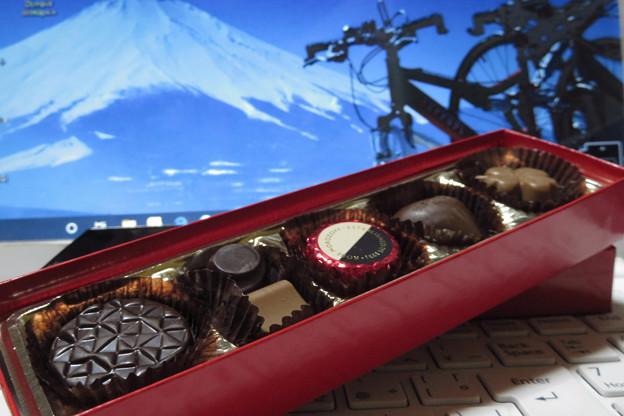 やっぱりチョコレート。