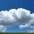 高原のジャムパンな雲。