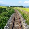 ローカル線田園をゆく。