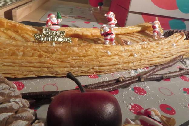 サンタも目指したアップルパイ。