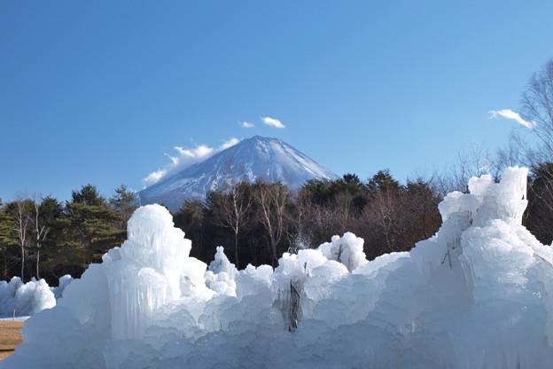 今年も氷モリモリ。