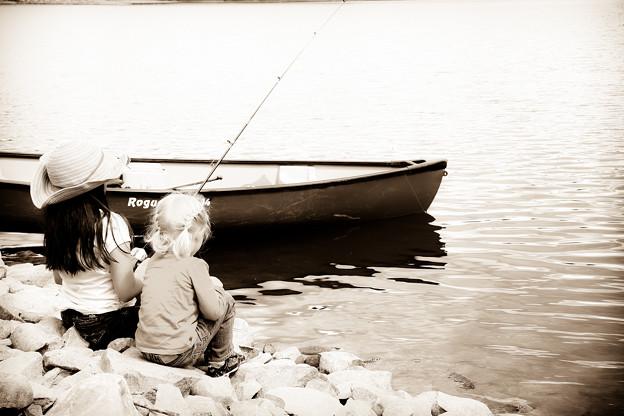 釣りガールズ♪