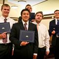Photos: Andy's Seminary Graduation
