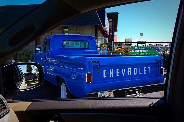 Old but ピッカピカ Chevy♪