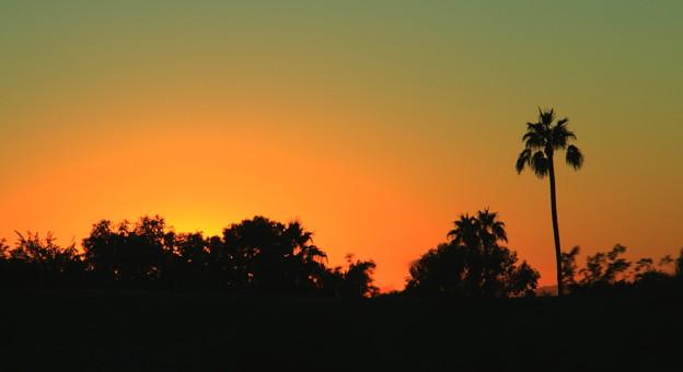 Phoenixの夕焼け