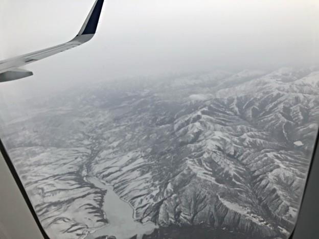 ロッキー山脈通過中…