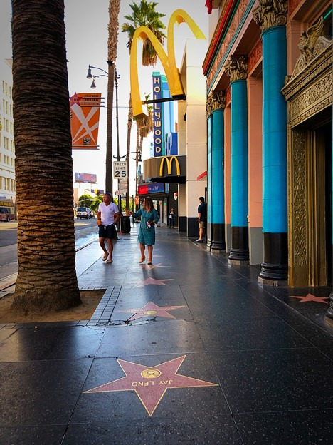 golden arch & walk of fame