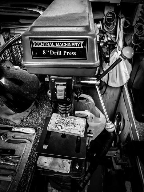 第145回モノコン お義父さんのオモチャ。。Drill Pressのスイッチ