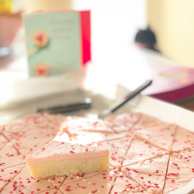 Photos: Sugar Cookie Bars for V-day♪