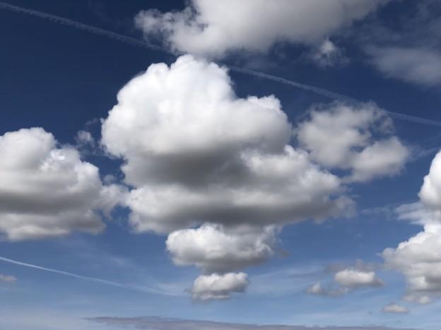 モクモクの雲♪