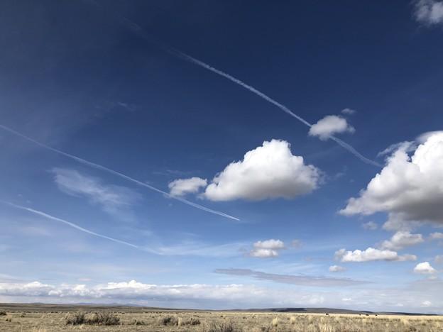 飛行機雲♪