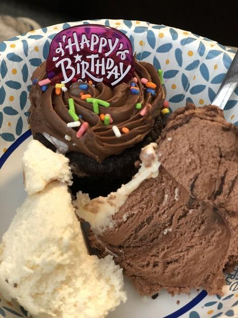 B-day Cupcake♪