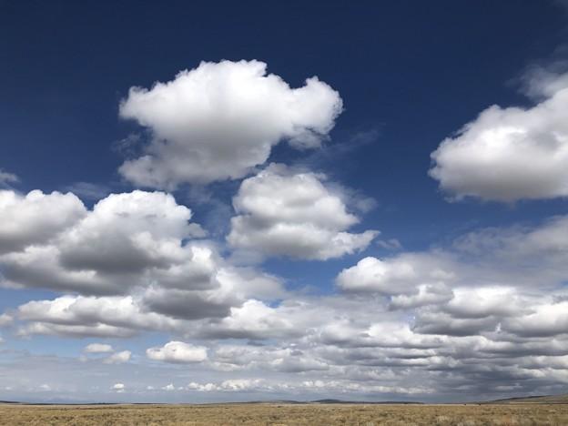 雲は続くよどこまでも~♪