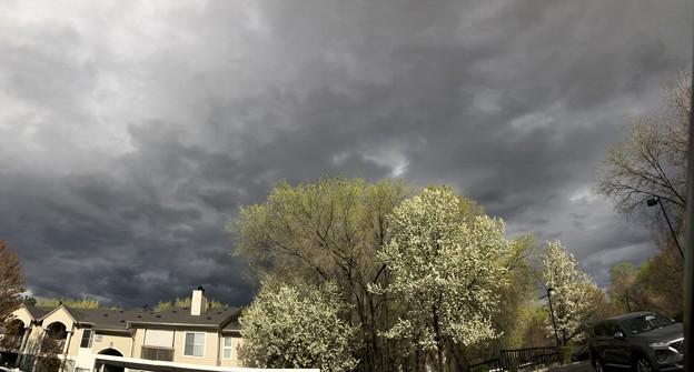 Photos: 怪しい空
