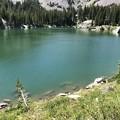 Photos: 薄氷の張った湖