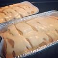 Photos: Fresh Peach Bread with Fresh Peach Glaze♪