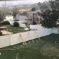Photos: 暴風対策。。