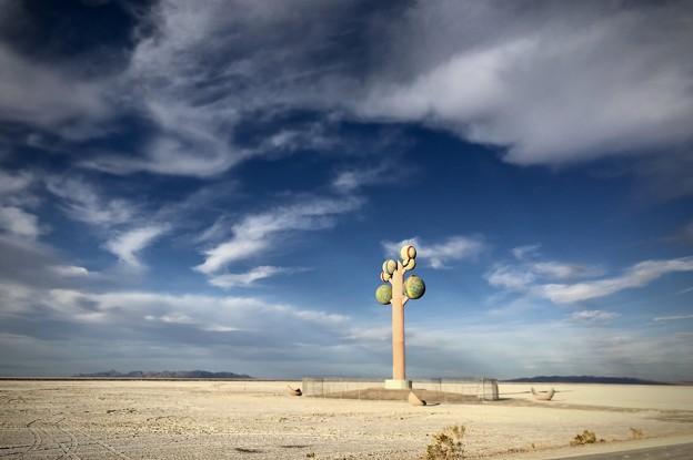 砂漠のオブジェ
