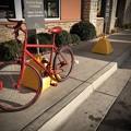 Photos: 赤いバイクで朝マック♪