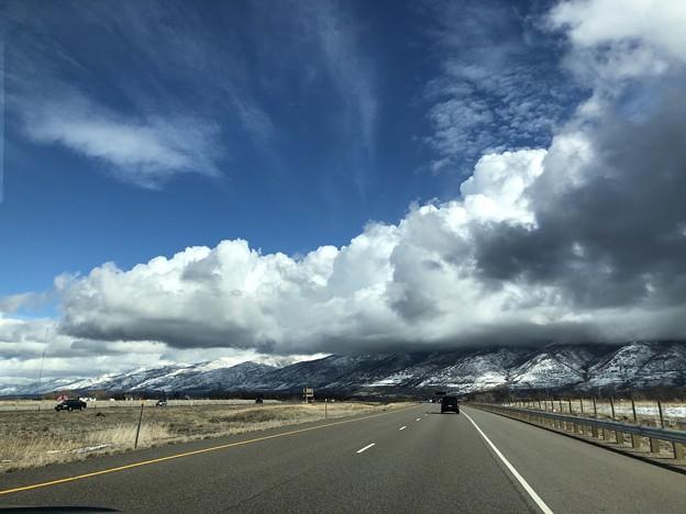 土曜日の空模様…1