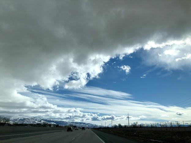 土曜日の空模様…3