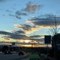 Photos: 土曜日の空模様。。9 夕焼け